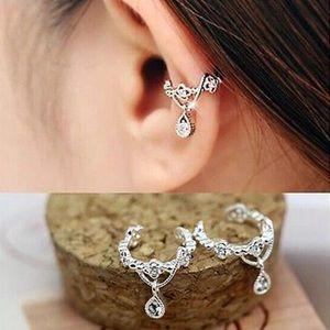Jewelry - Single Fake Drop Cartilage Ear Cuff